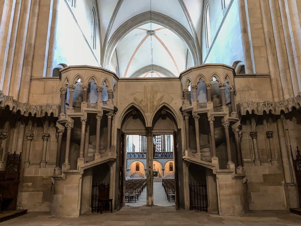 Kraft innerer Bilder - Chorschranke Naumburger Dom
