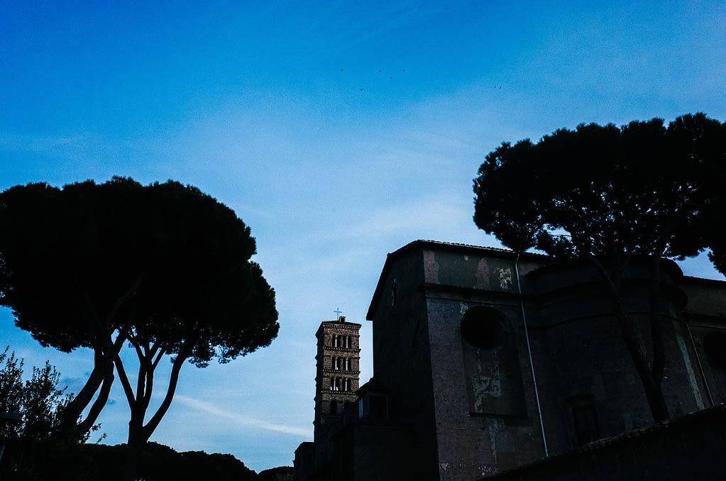 Aventin in Rom