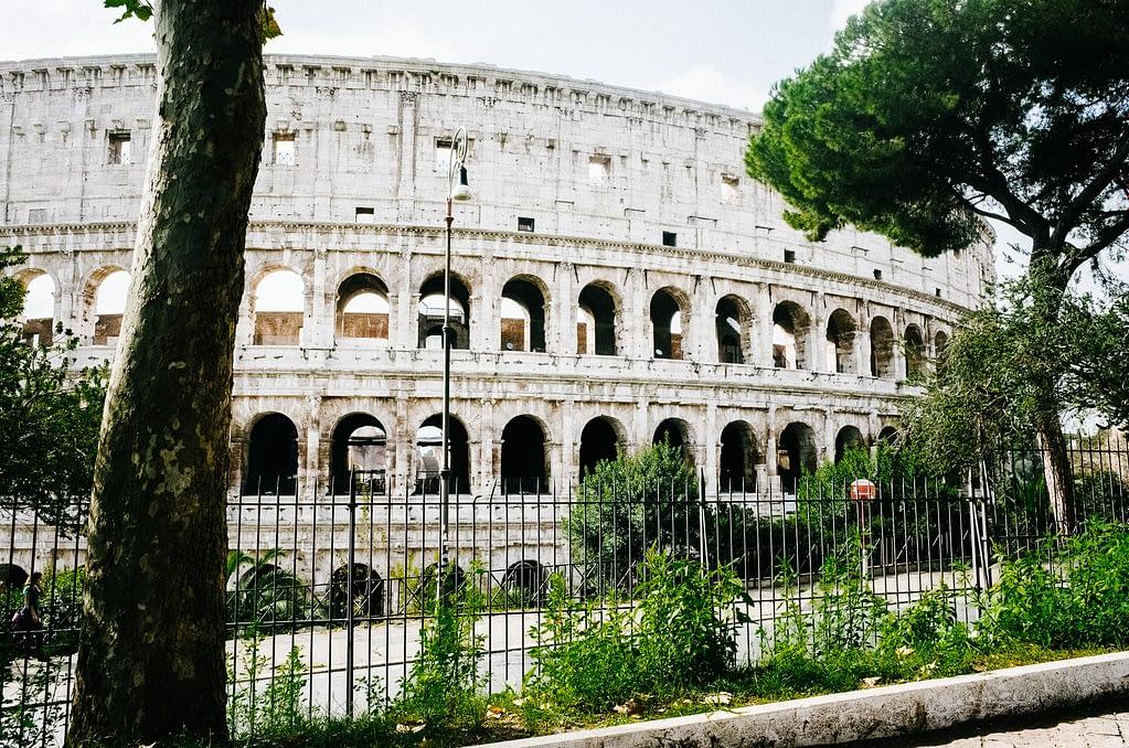 Das neu renovierte Kolosseum