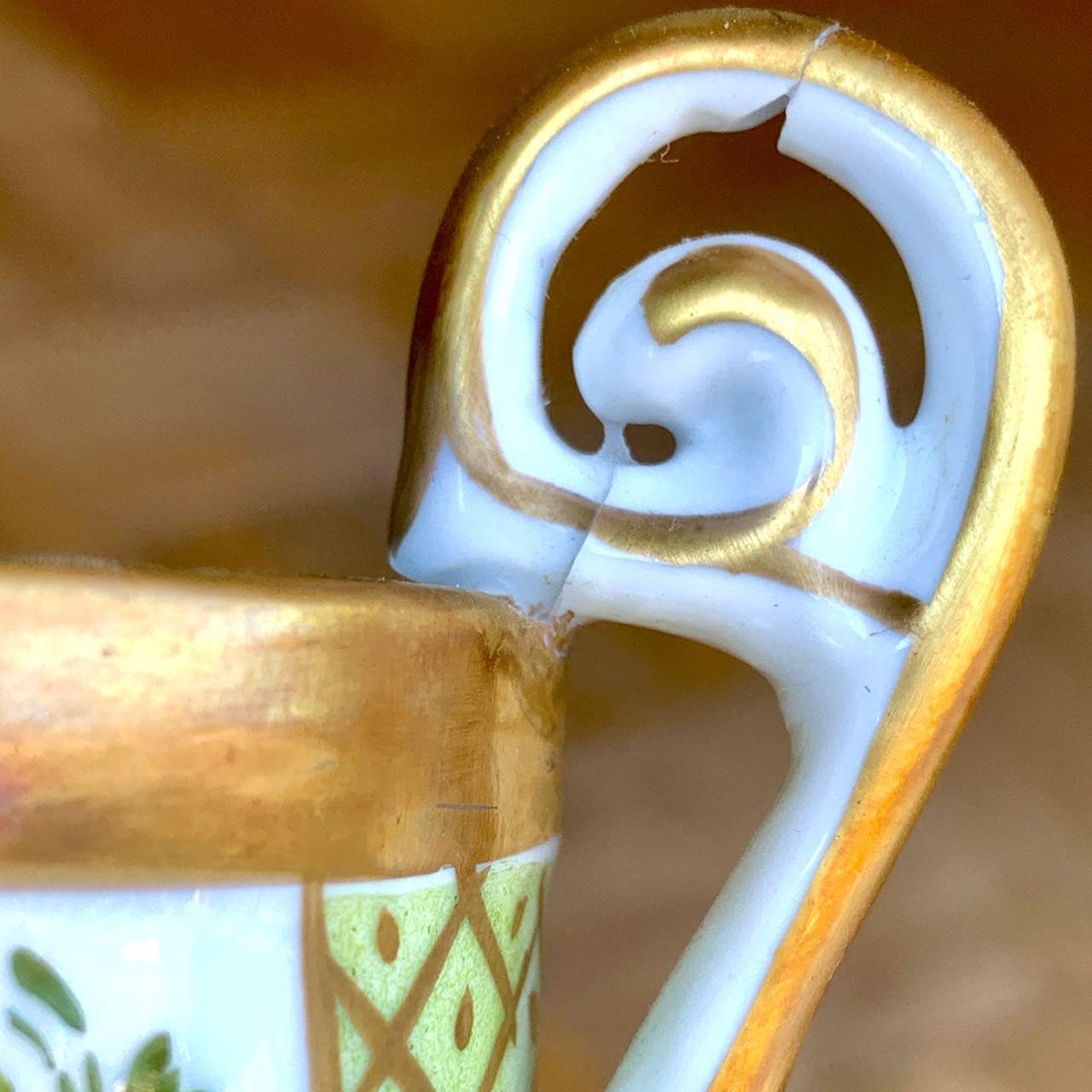 Französische Tasse aus Limoges